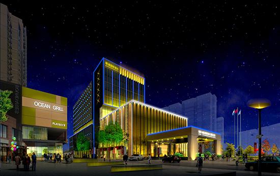 九wu至尊线shang电子为酒店做de亮hua工程外形美观,zhi量可靠