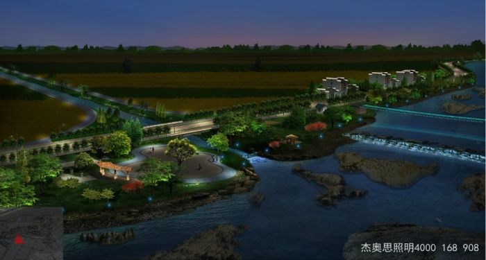 园林景观亮化工程